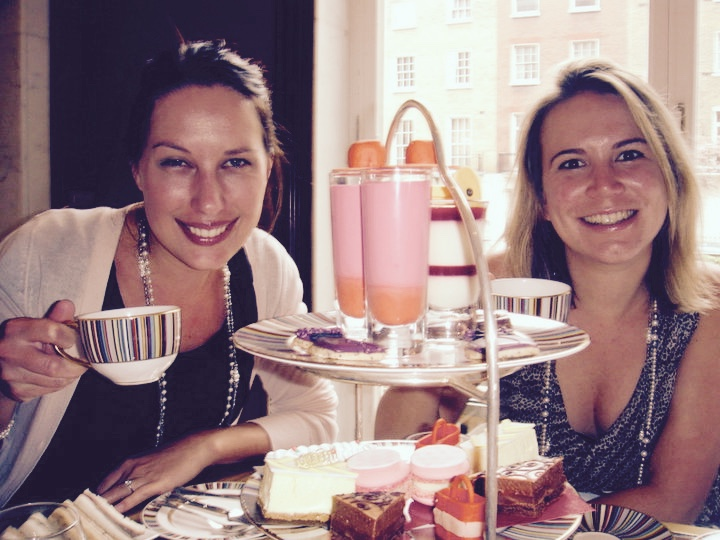 Afternoon tea in London Town